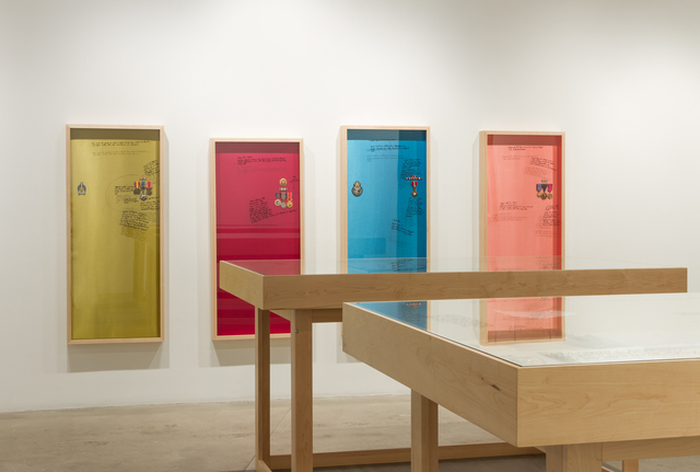 Michael Rakowitz, 'John (Egypt); Ringo (Jordan); Paul (Palestine); George (Iraq) ', 2012, Rhona Hoffman Gallery