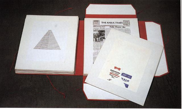 , 'Insicuro Noncurante, portfolio with 81 plates, edition of 41,' 1972-1975, Noire Gallery