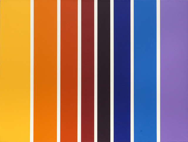 , 'Lines of color,' 2011, Pop/Off/Art