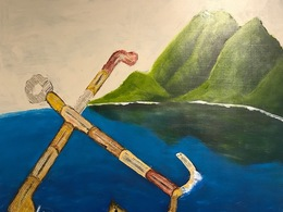 , 'Floating Anchor,' 2017, galerie 103