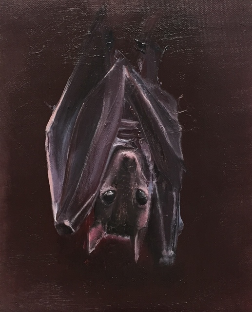 , 'Bat Study,' 2017, LAUNCH LA