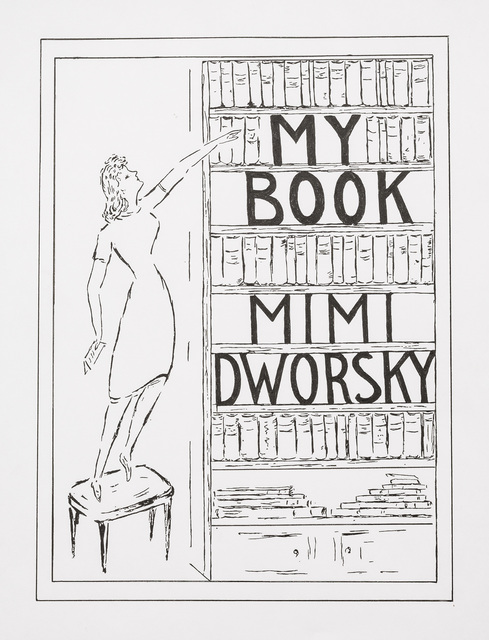 "Charles LeDray, '""My Book"" Mimi Dworsky', 2018, Peter Freeman, Inc."
