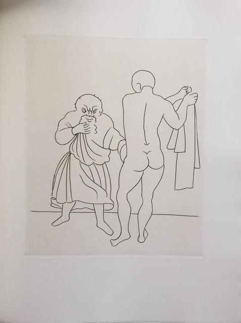 André Derain, 'Erotic Etching from Satyricon', 20th Century, Lions Gallery
