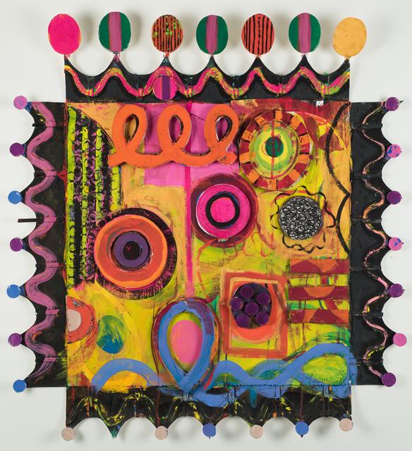 , 'Squares With Borders Set I #42,' 2016, Jacob Babchuk Gallery
