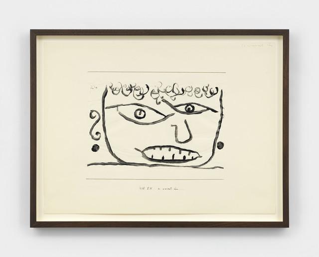 Paul Klee, 'es wurmt ihn (It Annoys Him)', 1938, David Zwirner