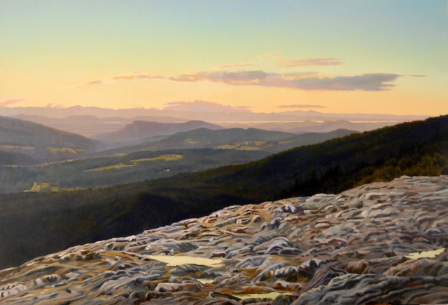 , 'Sunset Ledge to Lake Champlain, Watershed,' 2013, West Branch Gallery