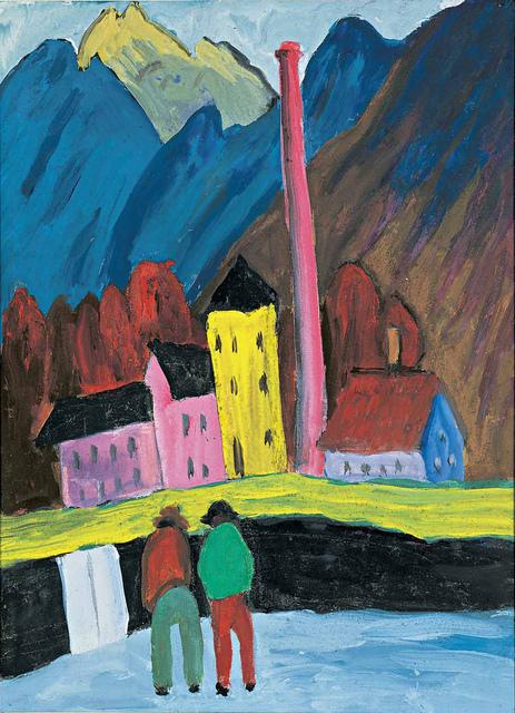 , 'Die Fabrik,' 1910-1911, Artvera's Art Gallery