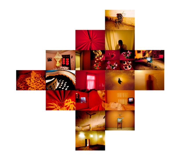 , 'Hotel Tropical - Vermelho (Tropical Hotel - Red),' 2011, Zipper Galeria