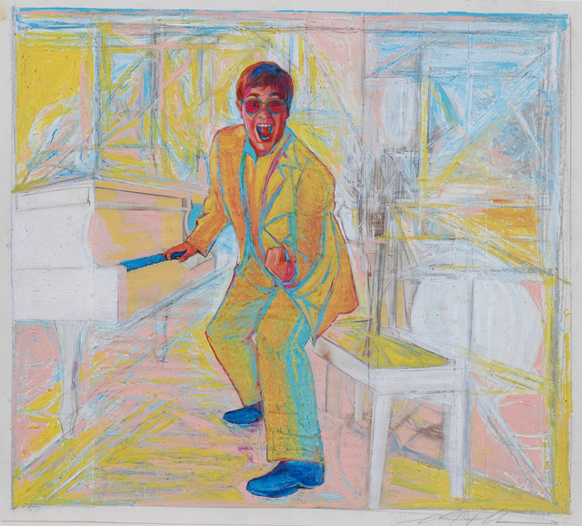 , 'Elton John,' 2005, Fountain House Gallery