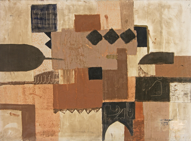 , 'Abstract,' 1973, Hafez Gallery