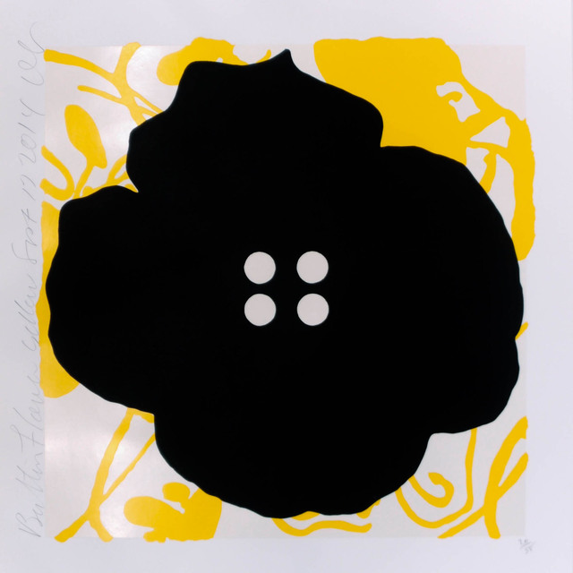 , 'Button Flower Yellow,' 2014, Heather Gaudio Fine Art