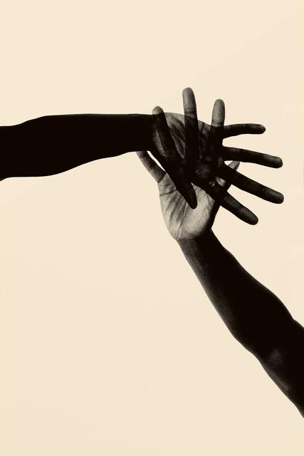 , 'Hands Together,' 2018, Bildhalle