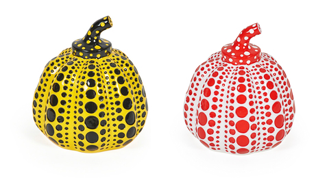 Pumpkin (Yellow) and Pumpkin (Red)