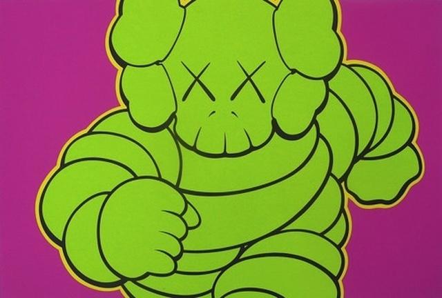 KAWS, 'Untitled (Pink Running Chum)', 2003, Carmichael Gallery