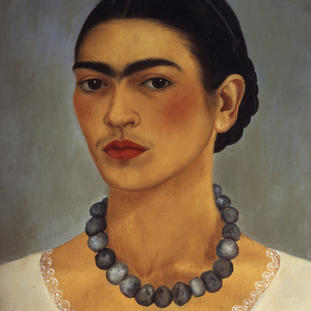 , 'Self-portrait with necklace,' 1933, Art Gallery of New South Wales