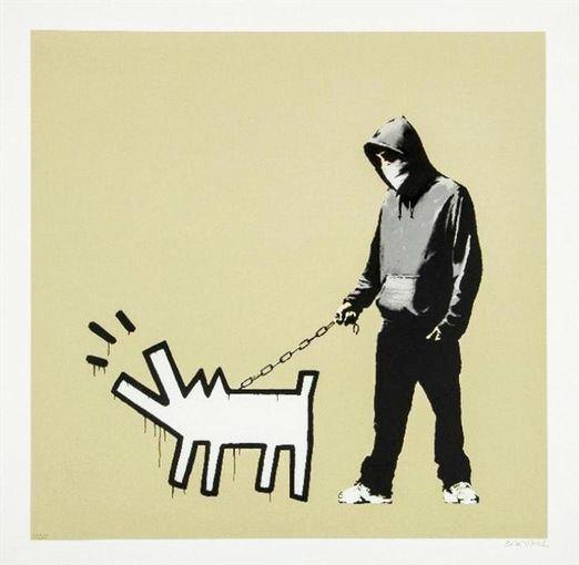 Banksy, 'Choose Your Weapon (Khaki)', 2010, Print, Screen Print, Andipa