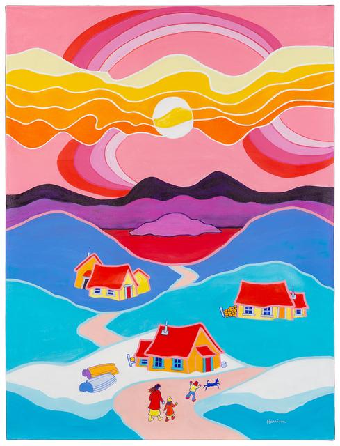 Ted Harrison, 'Beautiful Day', 1989, Hindman