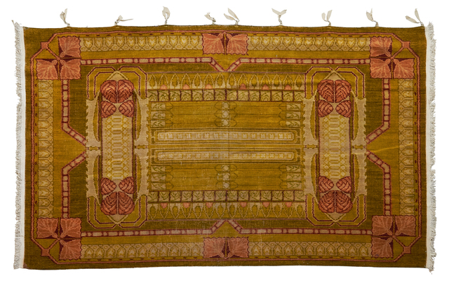 Unknown English, 'Tufted Axminster Weave Rug', early 20th C., Rago
