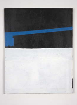 , 'Blue Black White (Building),' 2004-2012, Kerlin Gallery
