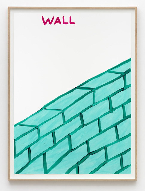 , 'Untitled (Wall),' 2015, Galleri Nicolai Wallner