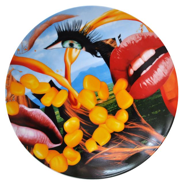 , 'Plate Lips,' 2012, Frank Fluegel Gallery