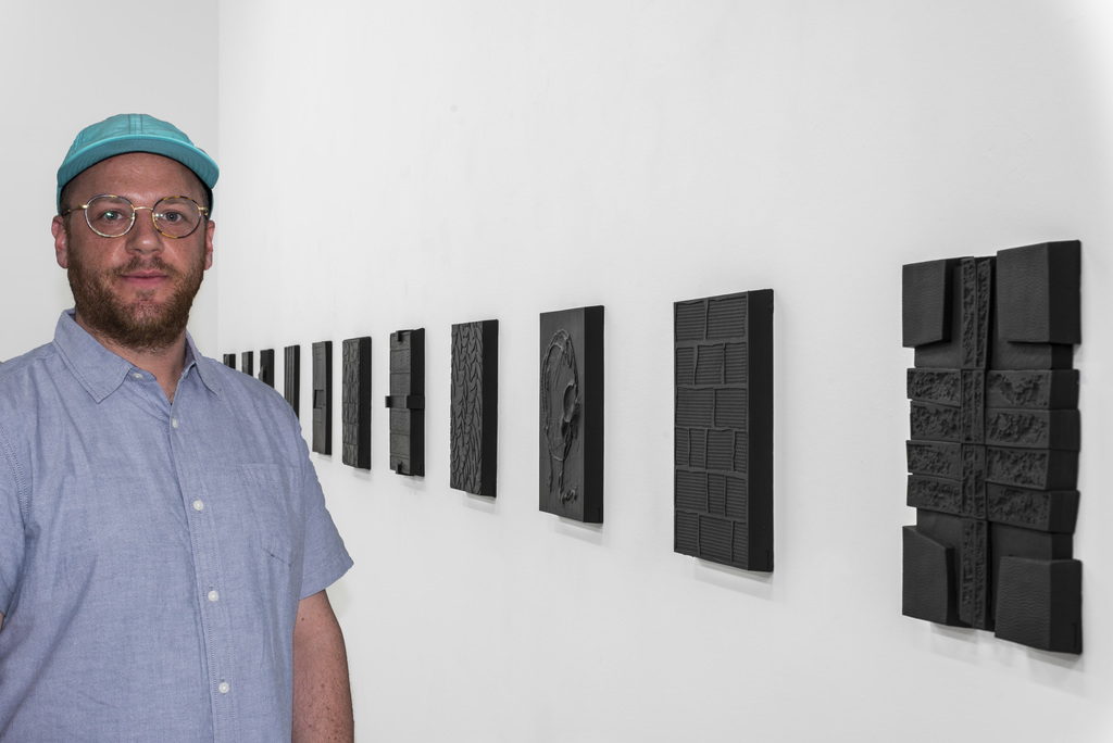Installation shot, February February with Mathew McConnell