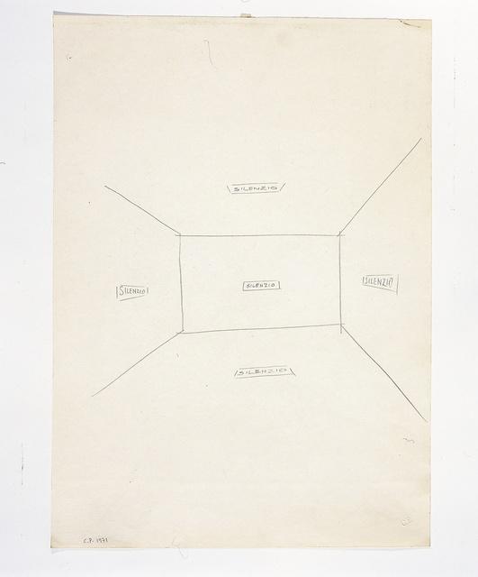 , 'Silenzio,' 1971, Meessen De Clercq