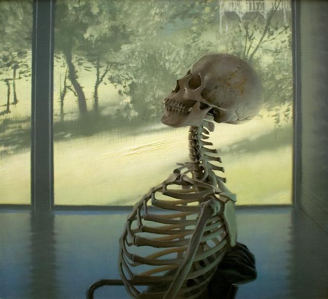 Daniel Sprick, 'Skeleton at Window', 2008, Gallery 1261