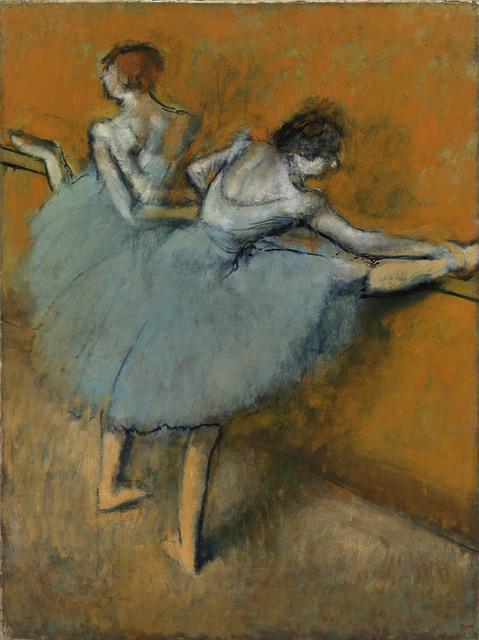 , 'Dancers at the Barre,' ca. 1900, Kimbell Art Museum