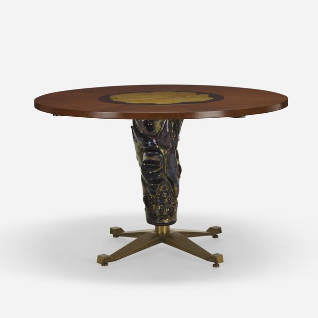 Altamira, 'dining table', c. 1953, Wright