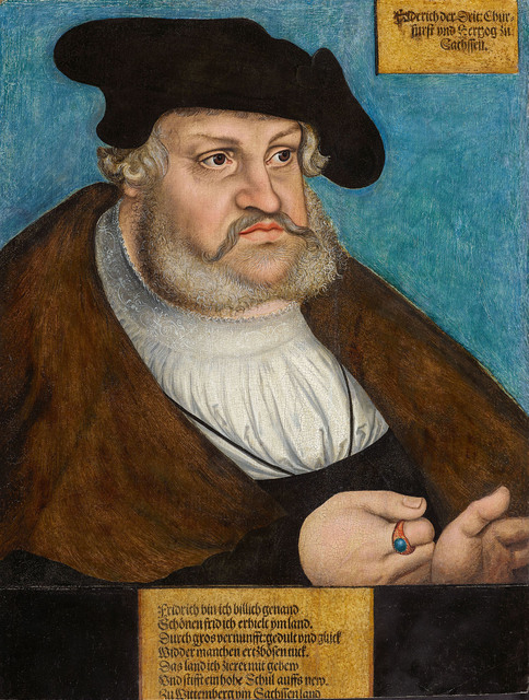 , 'Portrait of Frederick the Wise,' , De Jonckheere