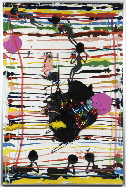 """, 'Ikea abstractions/portraiture (in this case abstraction) #98 """"Me while I look at a Cindy Sherman photo"""",' 2016, Richard Heller Gallery"""