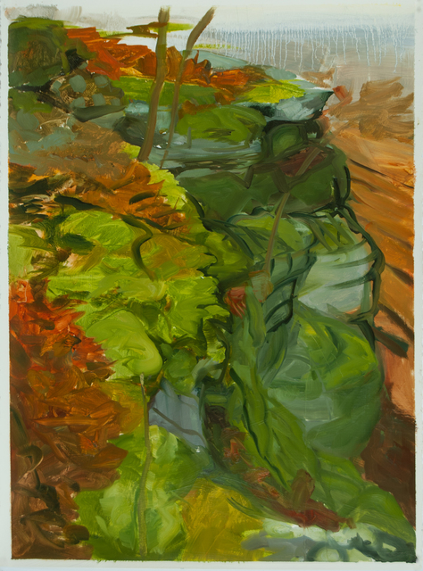 , 'Cliff Top in Fall,' 2013, Inman Gallery