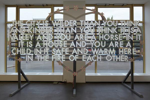 Robert Montgomery, 'THE CITY IS WILDER', 2011, Mannerheim Gallery
