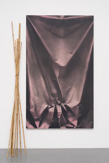 , 'Folds and Bamboo,' 2015, Pilar Corrias Gallery