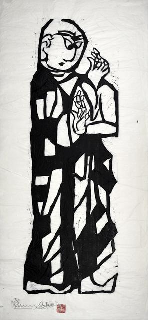 , 'Śāriputra, Master of Wisdom,' 1960, Ronin Gallery