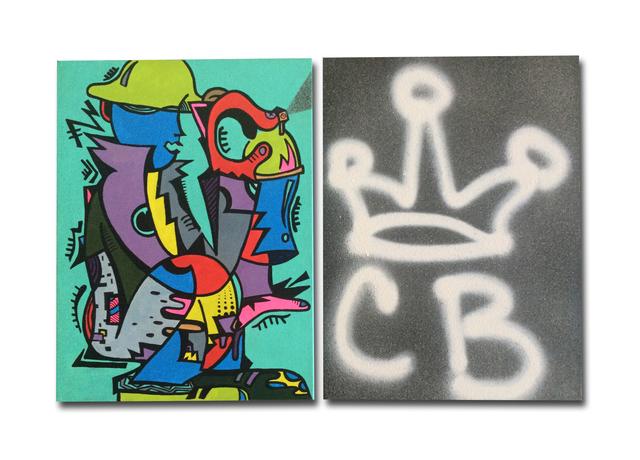 , 'My Man Cornbread (Diptych),' 2015, Gallery 38