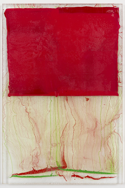 , 'Red Transference,' 2016, JanKossen Contemporary
