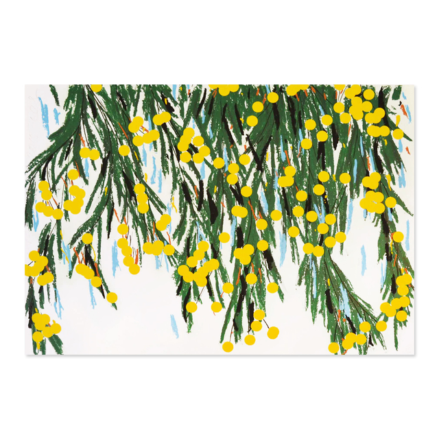 Donald Sultan, 'Yellow Mimosa', 2015, MLTPL