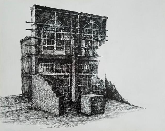 Margaret Noel, 'Façade I', 2017, Marloe Gallery