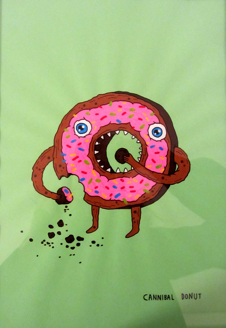 Laurina Paperina, 'Cannibal Donut', 2016, Erdmann Contemporary