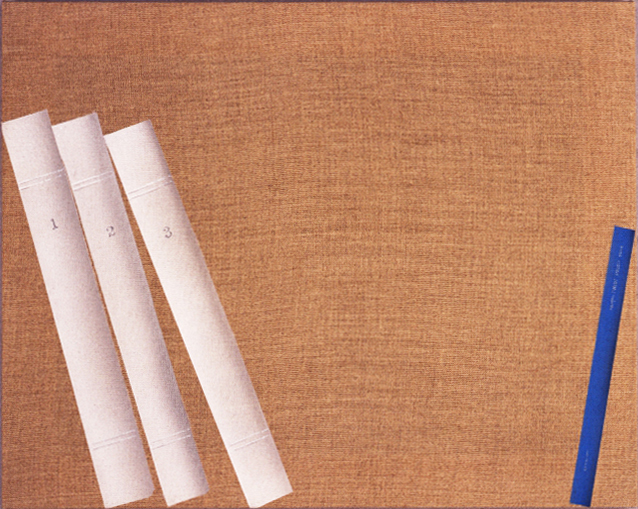, 'Four Books on a Shelf,' 2004, Antoine Helwaser Gallery