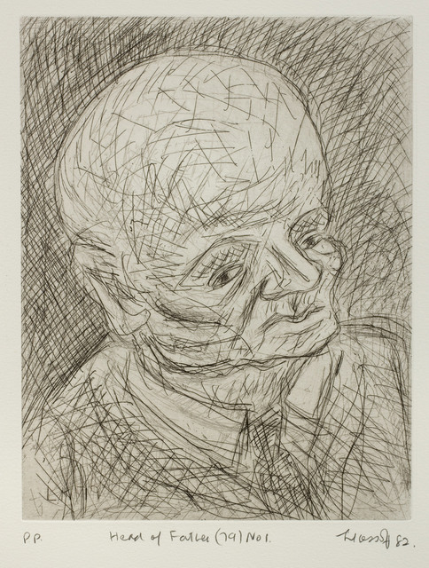 , 'Head of Father (79) No. 1,' 1982, Piano Nobile
