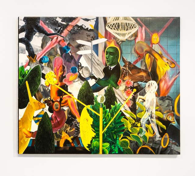 Rodel Tapaya, 'Nowhere Man', 2020, Painting, Acrylic on canvas, A3 Arndt Art Agency