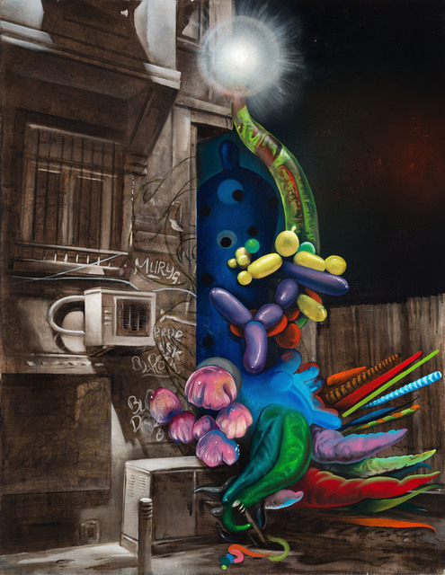 Steve Viezens, 'Hello, I'm Steve', 2014, Painting, Oil on canvas, Galerie Kleindienst