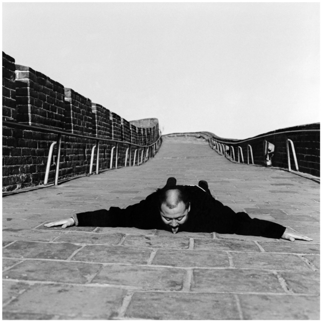 , 'Communication Series 4, The Great Wall,' 2000, Contemporary by Angela Li