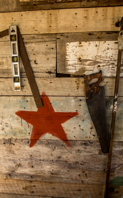 , 'Saw, Level and Red Star, Santiago de Cuba,' , Soho Photo Gallery