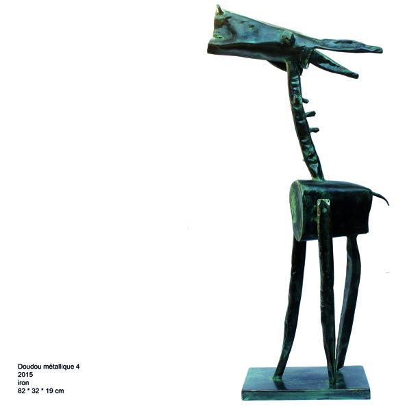 , 'Metal Doll,' 2015, al markhiya gallery