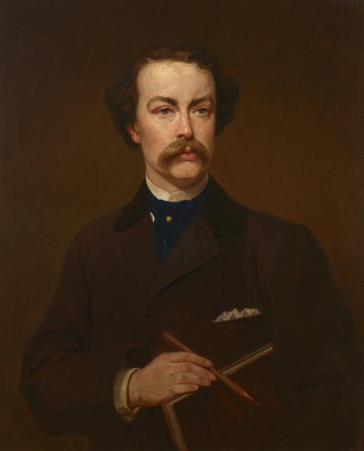 George P. A. Healy, 'Portrait of William Stanley Haseltine', 1871, Debra Force Fine Art