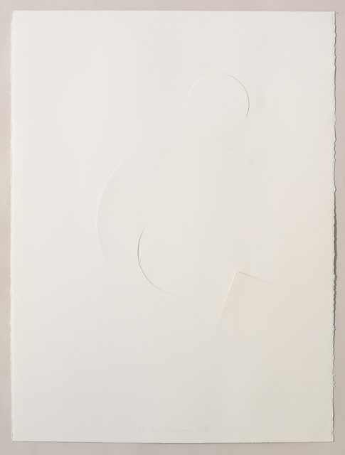 , 'Untitled Cut, D#3,' 1978, Bookstein Projects